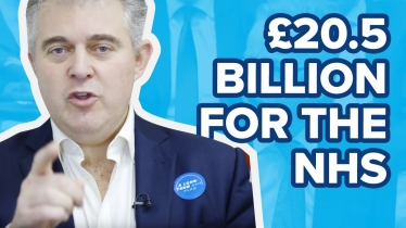 Embedded thumbnail for The NHS Long Term Plan will see an extra £20.5 billion more every year by 2023/24 for the NHS